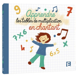 Vente  Apprendre les tables de multiplication en chantant (CD)
