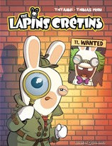 Vente Livre : Les lapins crétins - Tome 1 : Wanted  - Thitaume/Priou