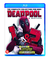Vente Blu-Ray : Coffret Deadpool 1+2 (2 Blu-Ray)