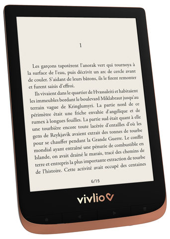Vente Articles : Liseuse VIVLIO Touch HD Plus
