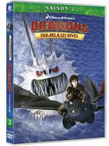 Vente DVD : Dragons / Par delà les rives - Saison 2 (2 DVD)