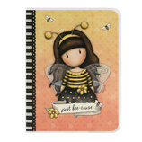 Vente Articles : Cahier A6 - Bee Loved  - Gorjuss