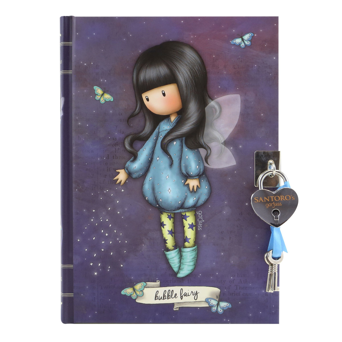 Carnet avec fermoir - Bubble Fairy