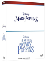Vente Blu-Ray : Coffret Mary Poppins + Le retour de Mary Poppins (3 Blu-Ray)