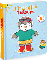 Vente Livre : J'habille T'choupi  - Thierry Courtin