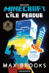 Vente Livre : Version dyslexie : Minecraft - L'île perdue, tome 1  - Max Brooks