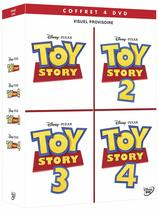 Vente DVD : Coffret : Toy Story 1 - 4 (4 DVD)