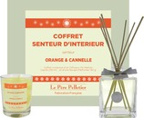 Vente Articles : Coffret Senteur d'interieur - Orange Cannelle  - Le Père Pelletier