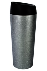 Vente Articles : Mug To Go Inox - Paillettes d'argent (450 ml)
