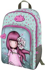 Vente Articles : GRAND SAC A DOS 3 ZIP - Cherry Blossom  - Gorjuss