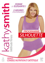 Vente DVD : Kathy Smith : Programme silhouette (DVD)  - Kathy Smith